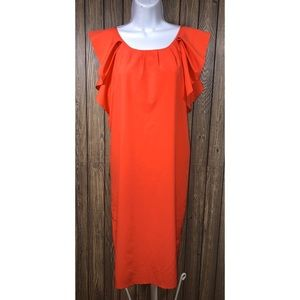 Pink Martini size XS dress with flutter sleeves